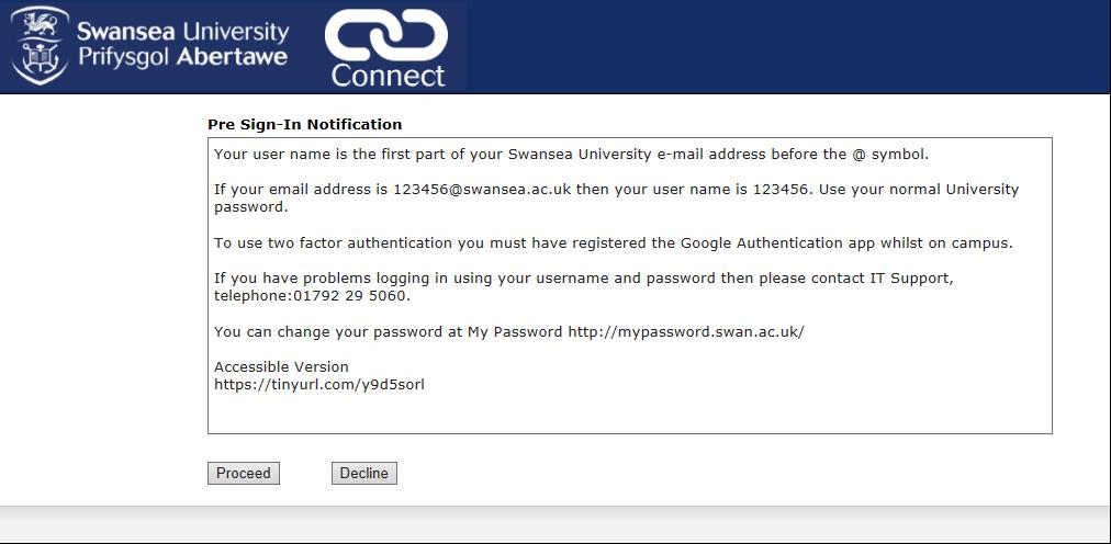 Swansea University VPN
